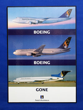 AIRCRAFT POSTER (Boeing, Boeing Gone)